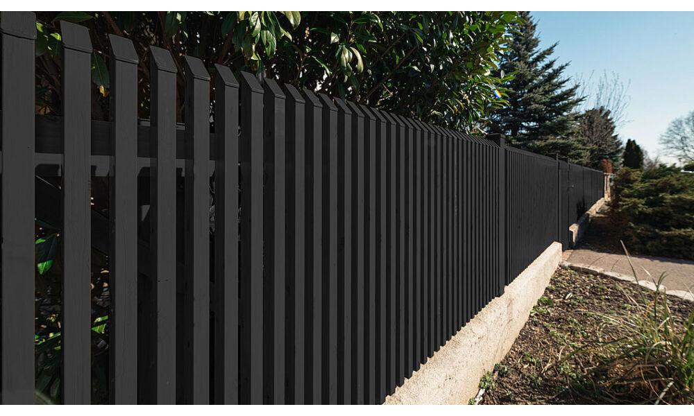 Palermo függőleges minimalista alumínium kerítés