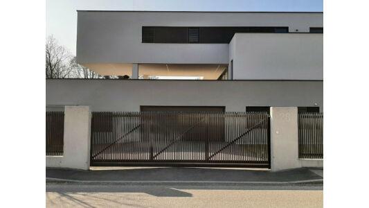 Palermo függőleges minimalista alumínium úszókapu