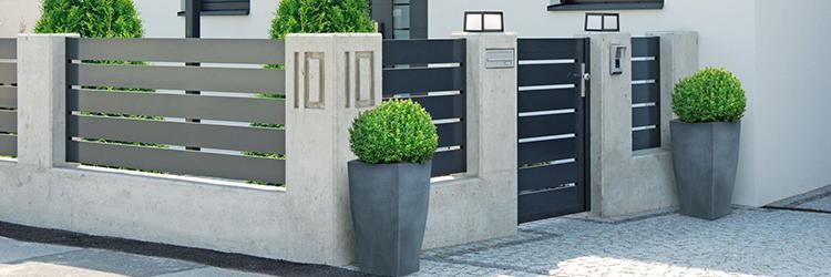 modern kerítés bármilyen lakást megújít